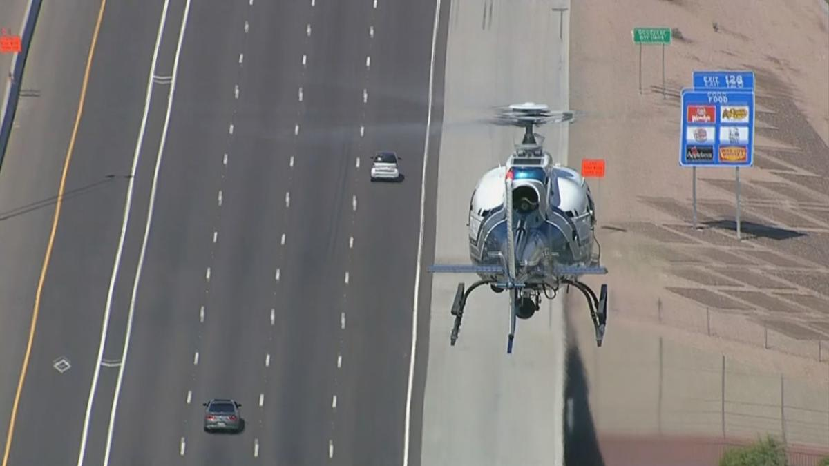 Police chase smart car in Phoenix