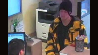Scottsdale police are asking for the public's help finding a man accused of robbing a bank Wednesday aftednoon.