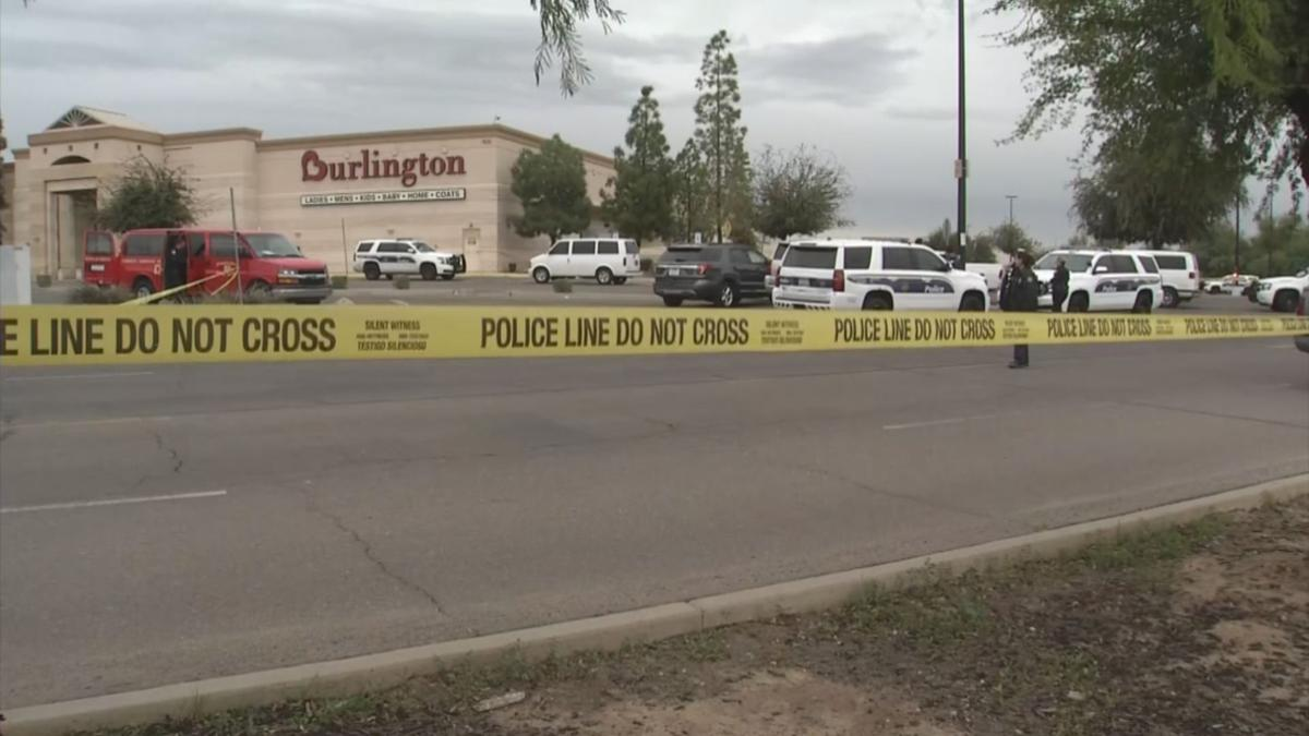 Officer-involved shooting outside west Phoenix mall