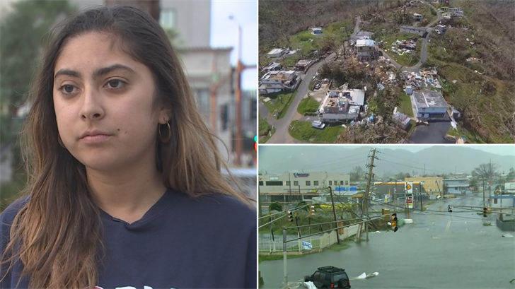 ASU student worried about her family in Puerto Rico