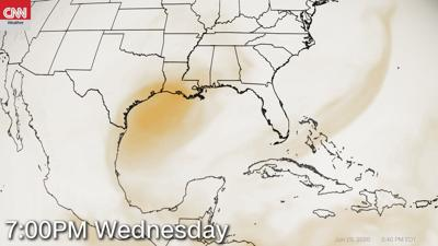 More Saharan dust will blow into the US this week
