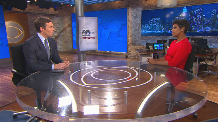 Yetta Gibson sits down with CBS Evening News anchor Jeff Glor