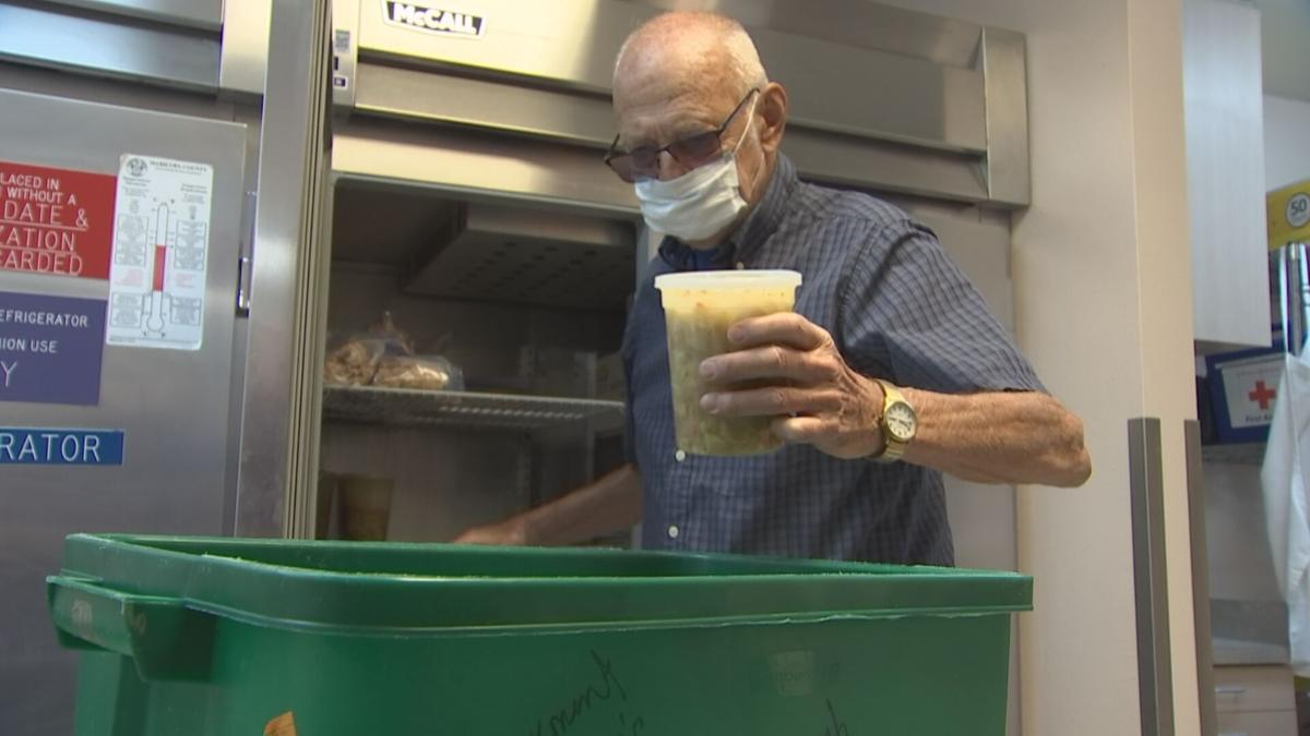 Jim Dodd made and distributed meals for his community for an entire year