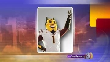 ASU's Sparky gets new look