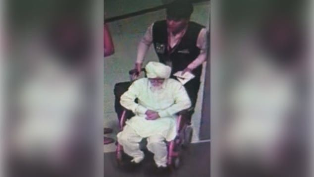 Young man caught posing as senior citizen to fly to US