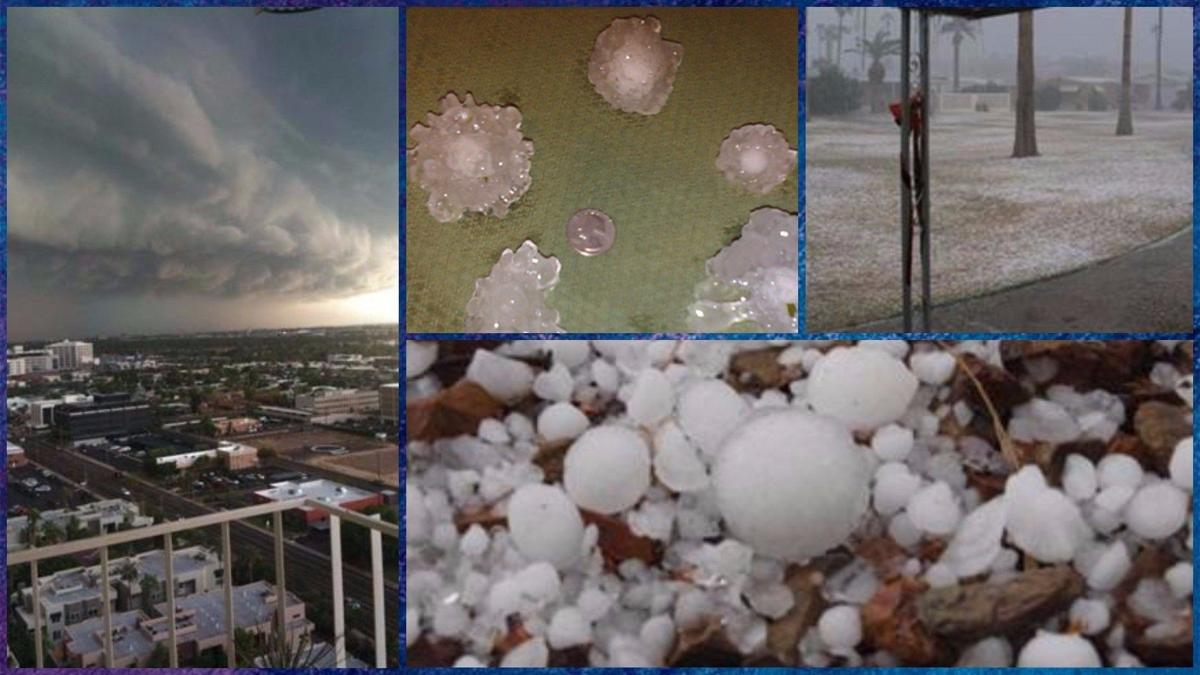 Worst hail storm Phoenix has ever seen