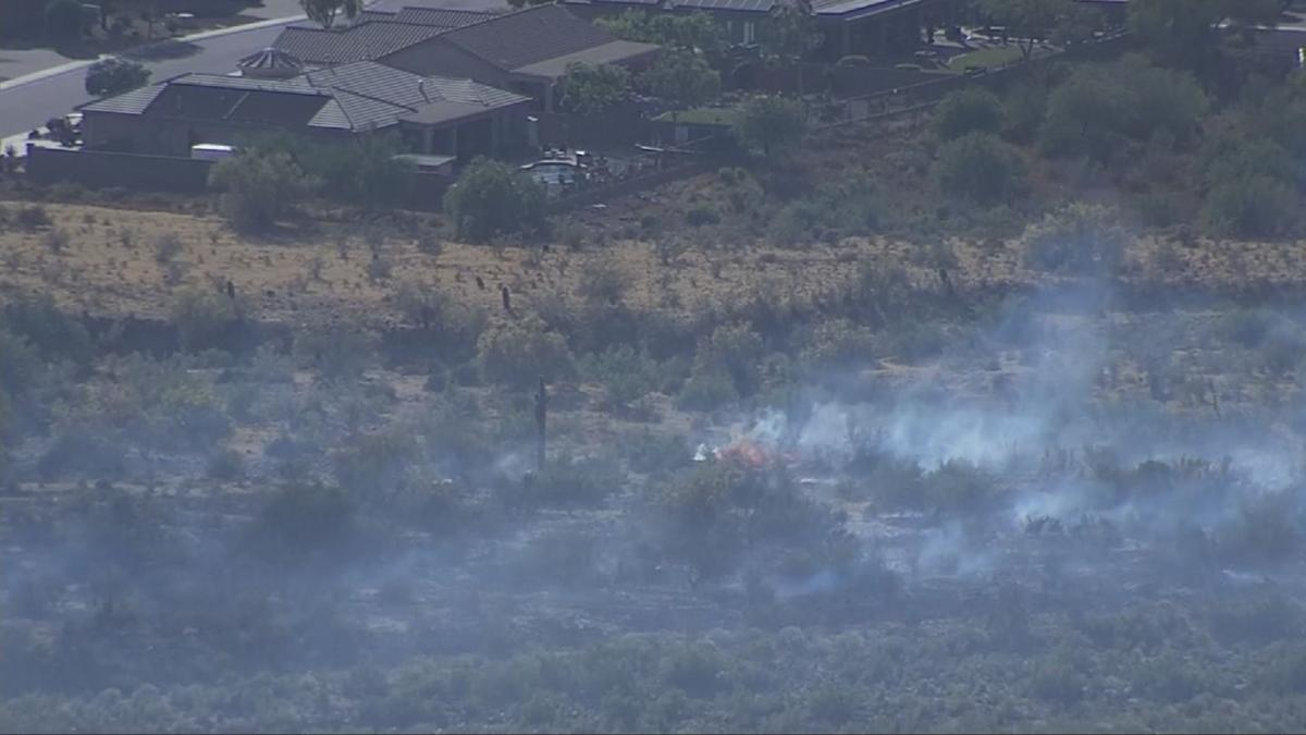 OLD WEST TRAIL BRUSH FIRE
