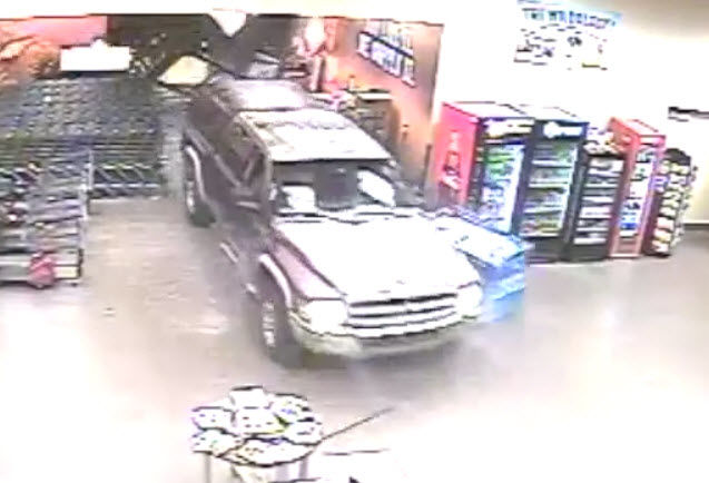 Video shows suspects crashing into Chandler store