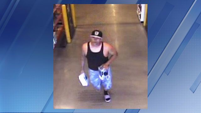 Surprise Police Ask For Help To Id Home Depot Shoplifter
