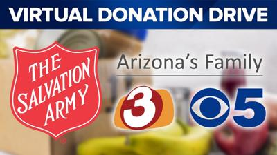 Salvation Army Virtual Donation Drive
