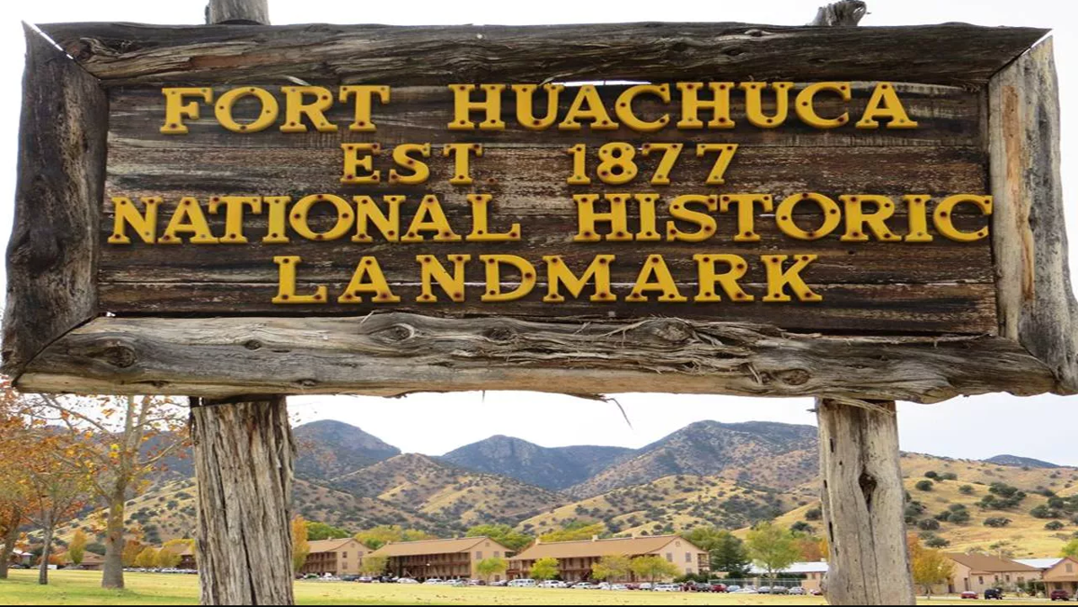 Fort Huachuca was designated a National Historic Landmark in 1977.