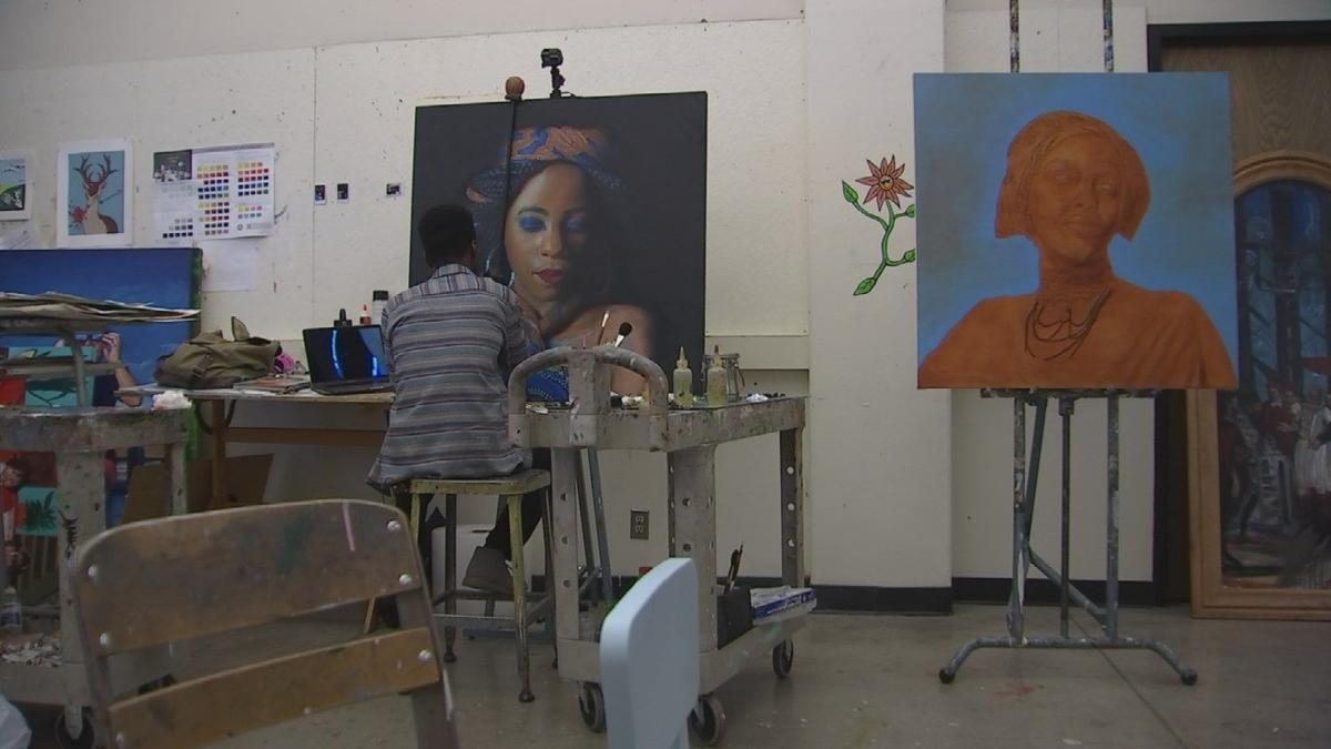 ASU senior awarded for life-like portraits of African refugees