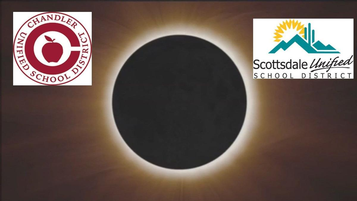 Scottsdale, Chandler Unified School Districts to keep kids inside during solar eclipse