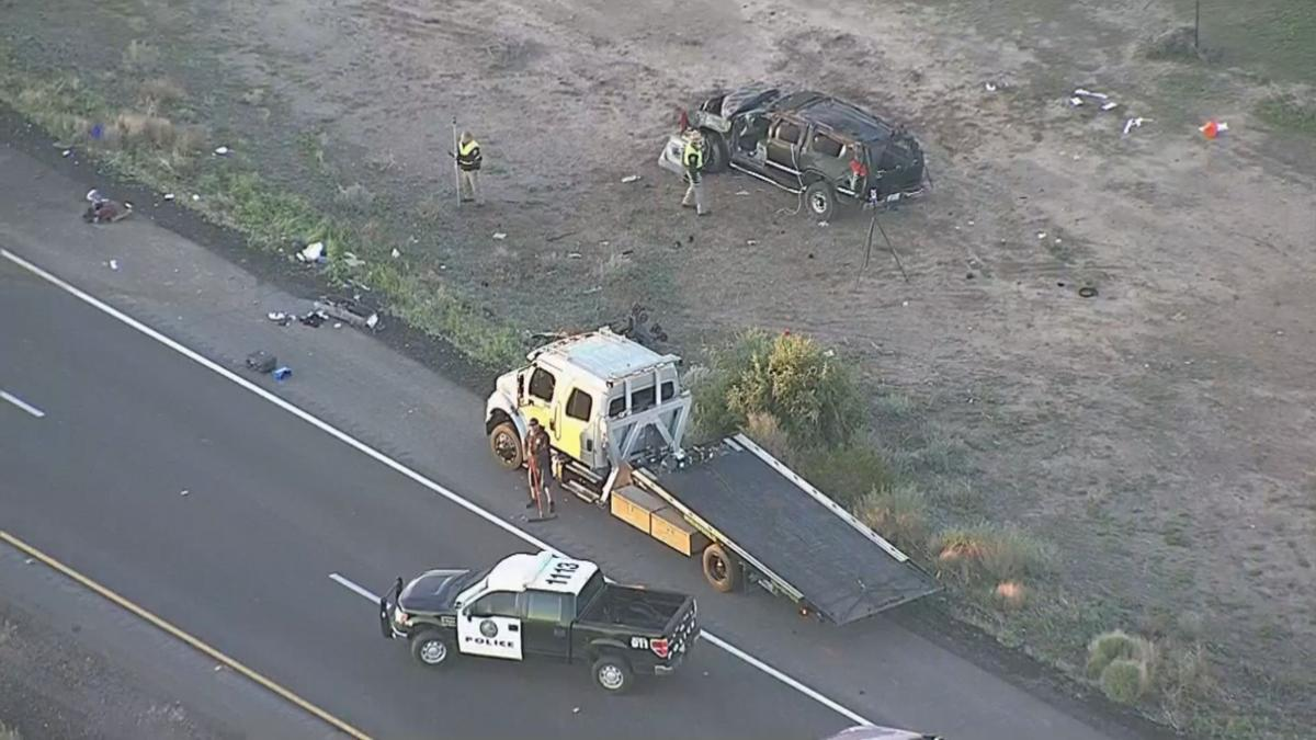 Deadly rollover crash on I-10 near Riggs Road is second this week