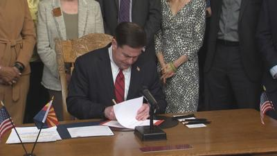 Arizona governor signs suicide prevention training bill