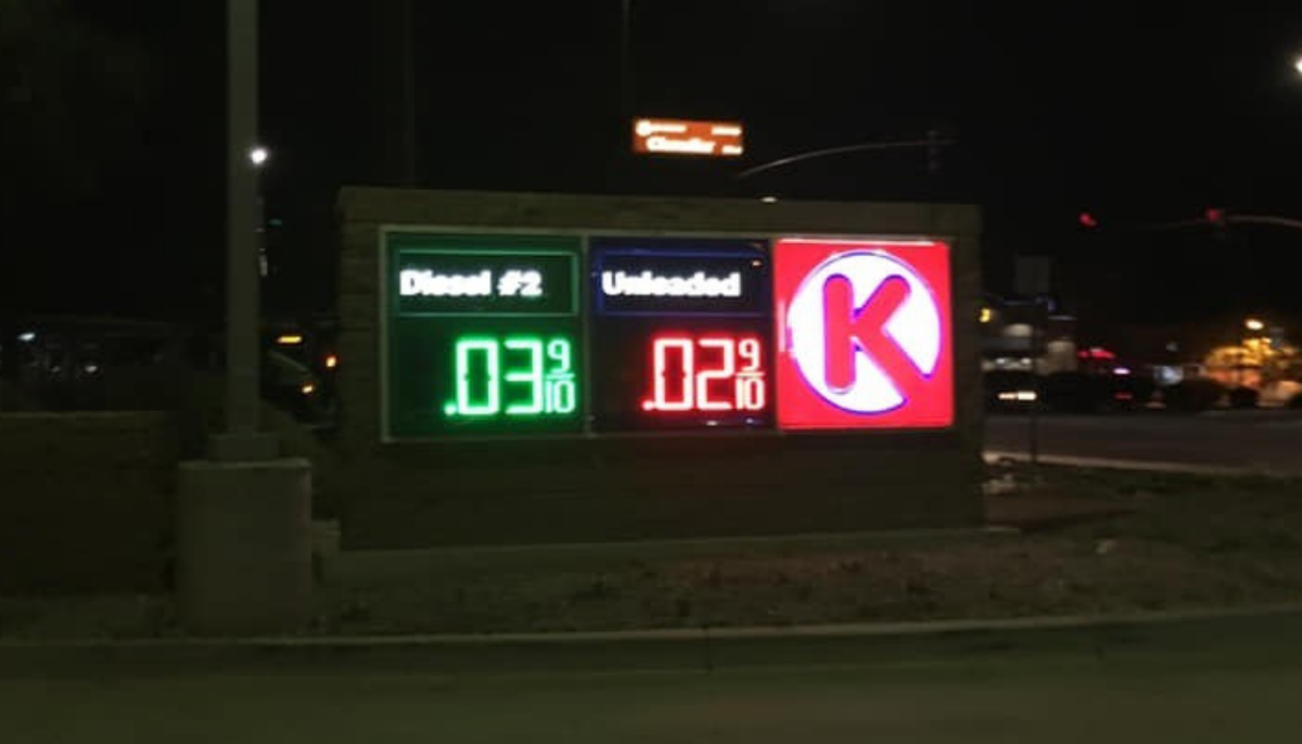 2 cents gas