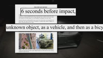 New report finds flaw in self-driving Uber that hit, killed woman in Tempe