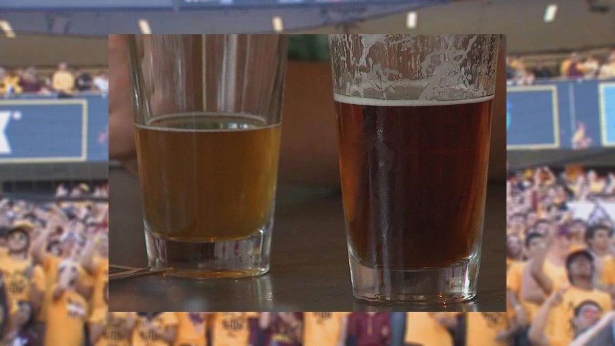 Serving up suds at Sun Devil football games?
