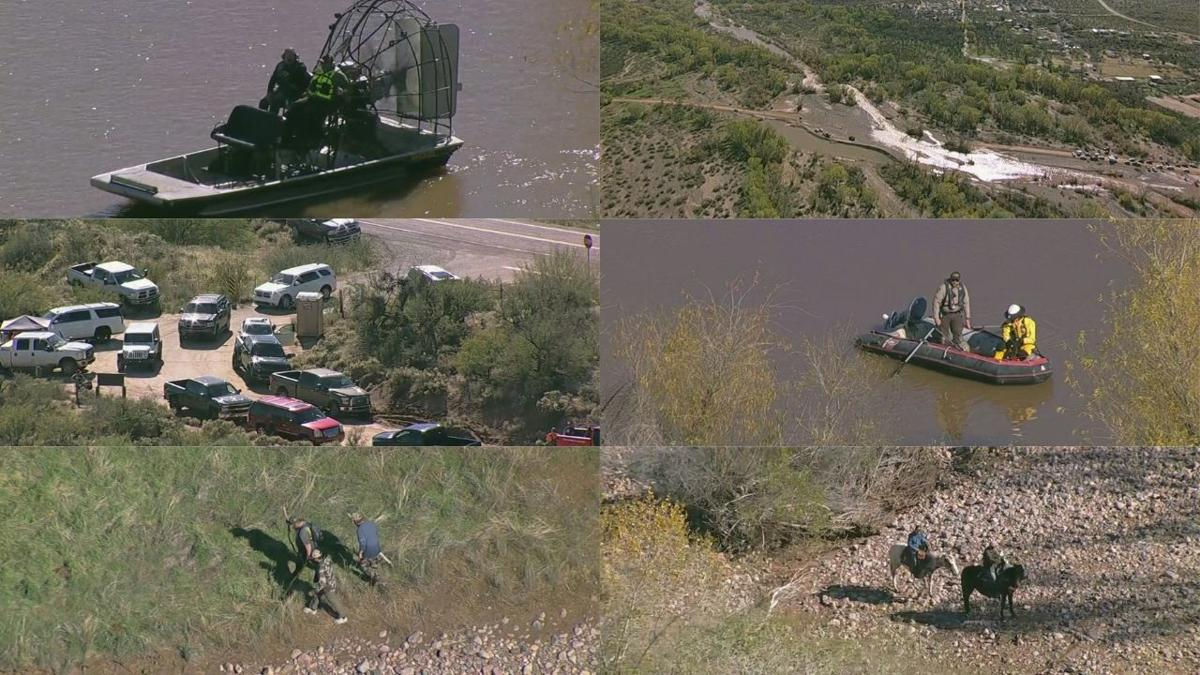 Crews, volunteers search for child swept away from floodwaters near Tonto basin