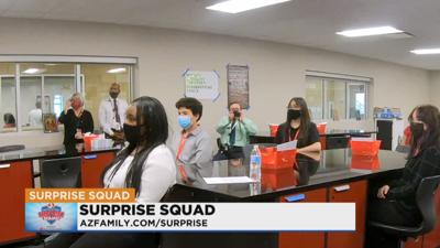 Surprise Squad - West Point High School in Avondale