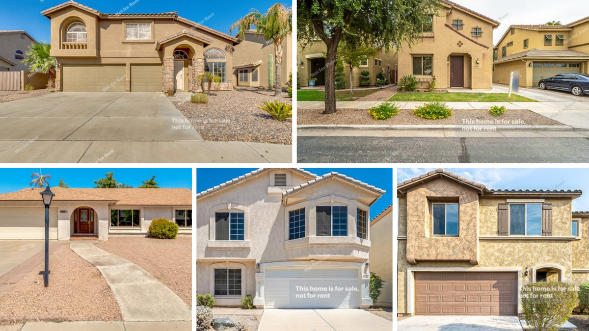 Homes for sale under $400K in the Phoenix-area