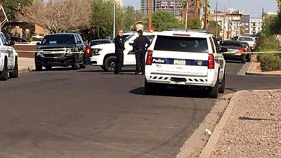 Phoenix police on scene of a deadly shooting