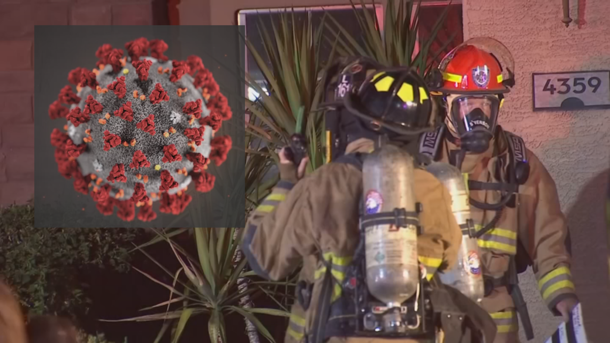 firefighters coronavirus