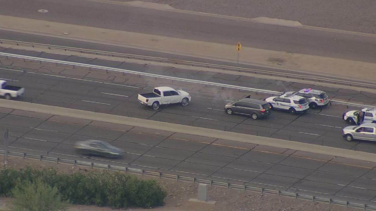 VIDEO: 3 troopers hurt, man dead in freeway shootout in Phoenix