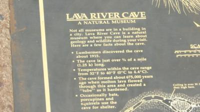 LAVA RIVER CAVE CHANGES
