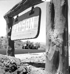 SR87 was paved in 1958