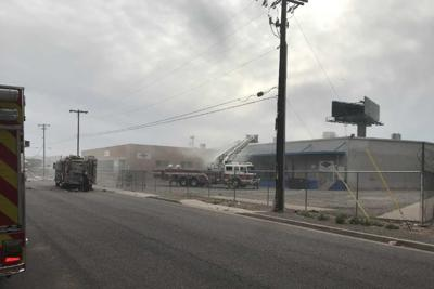 Crews from the Phoenix Fire Department were called out Saturday afternoon to fight a working first-alarm warehouse fire.