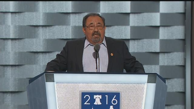 AZ Rep. Raul Grijalva, first to endorse Sanders, converts to Clinton for DNC