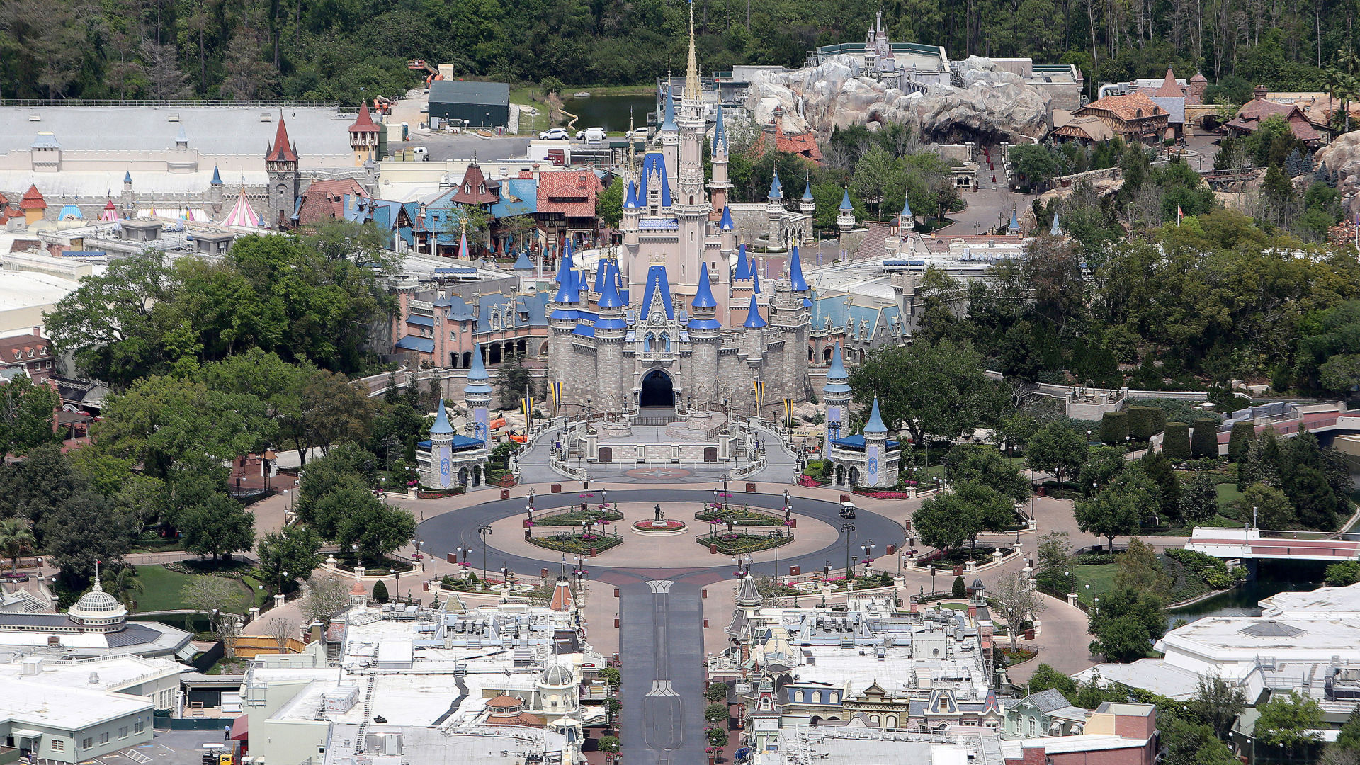 Disney World sets phased reopening date