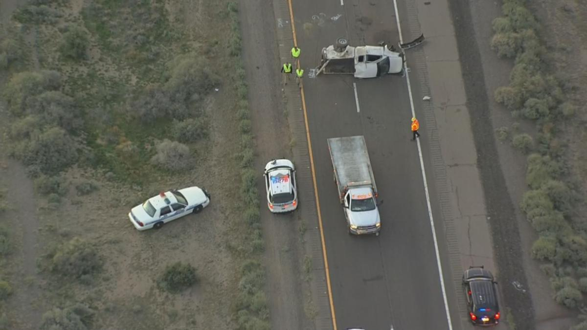 Deadly crash closes eastbound lanes of I-10 at Riggs Road