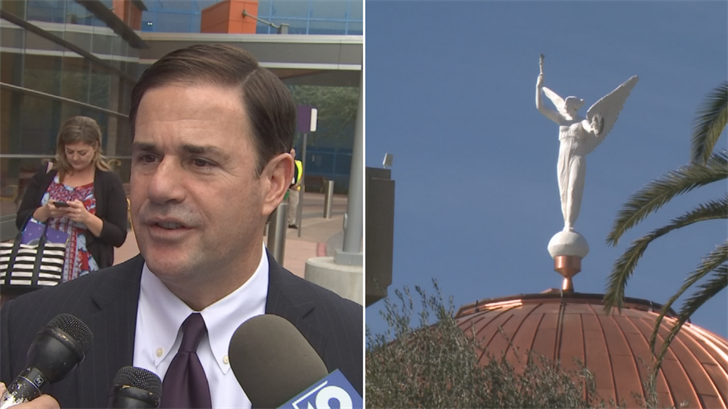 Gov. Ducey says more need to be done to end sexual harassment at the Capitol
