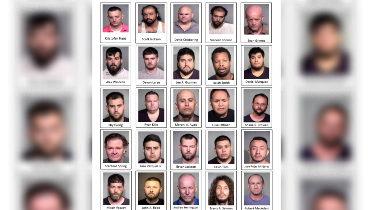 25 men arrested in operation summer shield