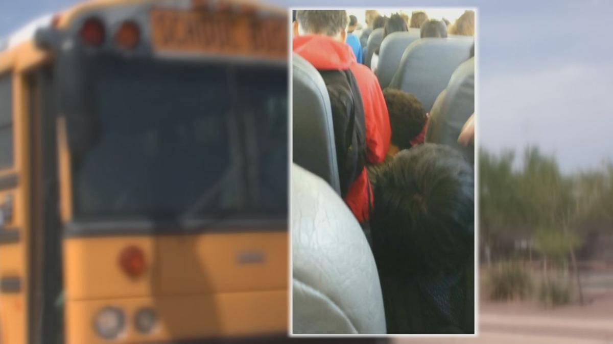 Maricopa mom says overcrowded school buses creating safety hazard