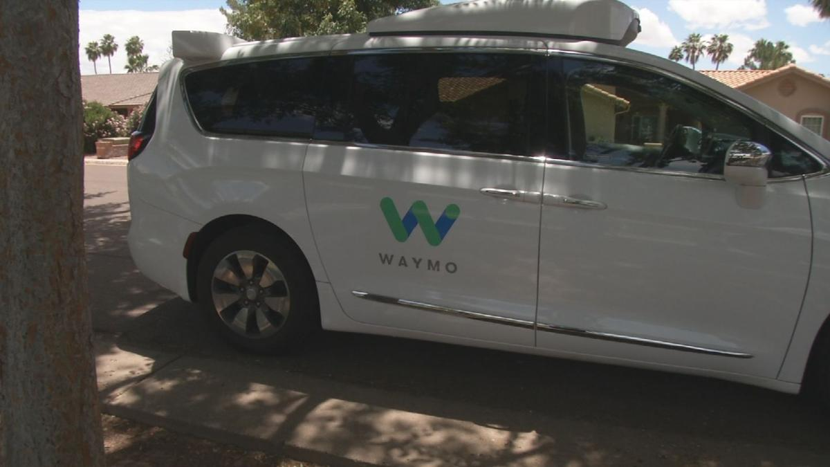 Waymo using Tempe as training ground to deal with large