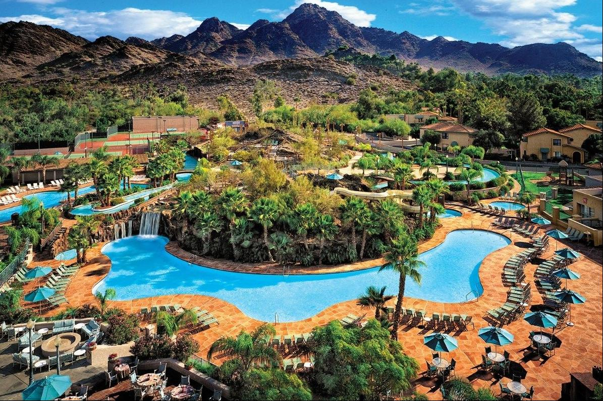 Top Hotel Pools In The Phoenix Area Features Azfamily Com