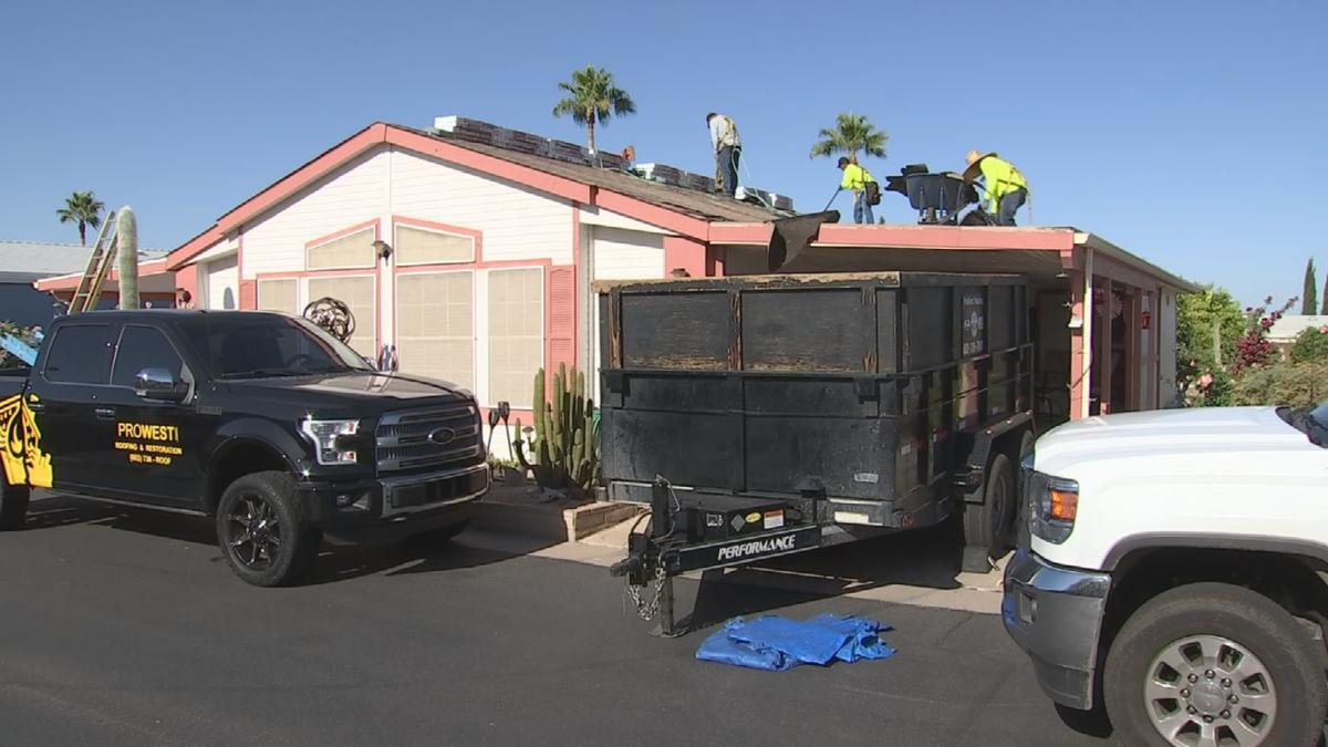 3 On Your Side - Phoenix company gives Mesa man new roof