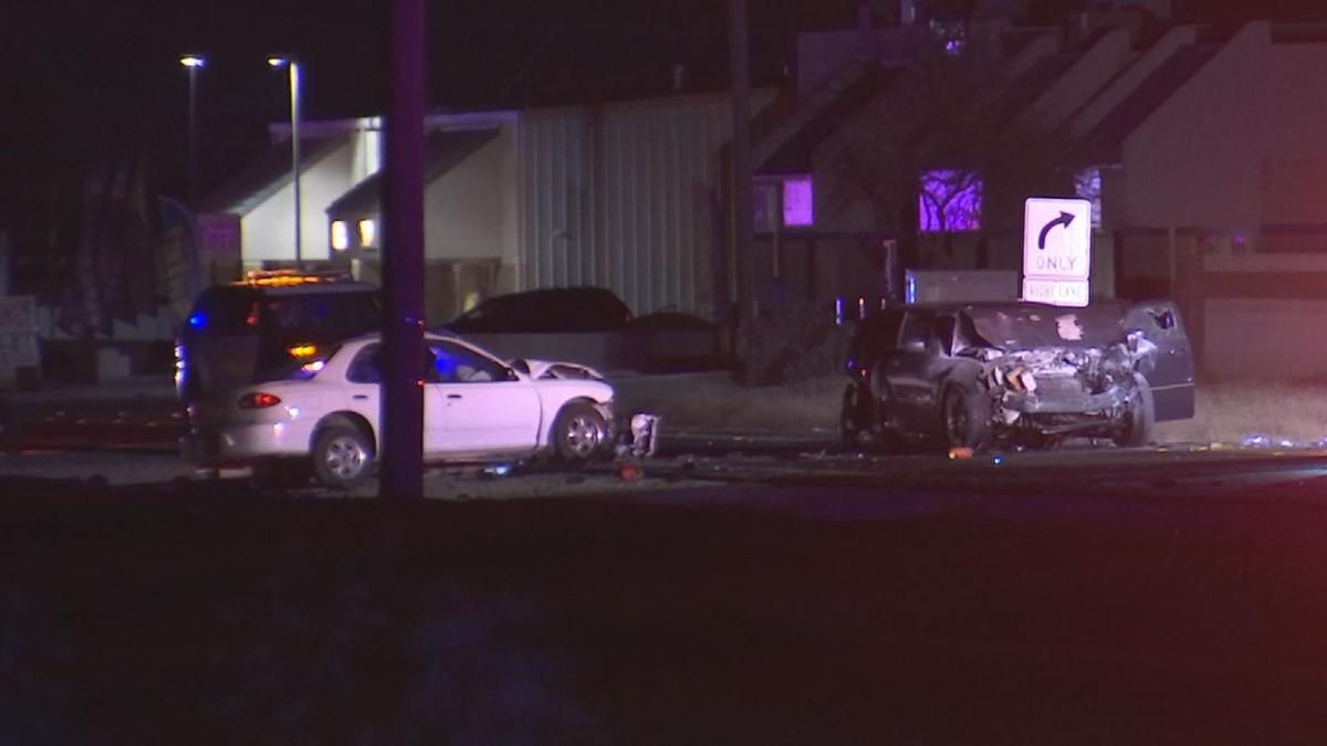 PD: 2 seriously hurt after drunk driver causes 3-vehicle El Mirage crash