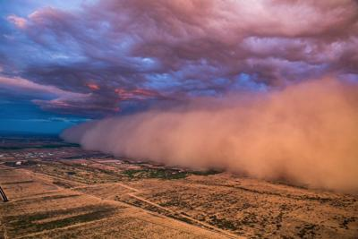 Slideshow: Massive wall of dust hits Valley