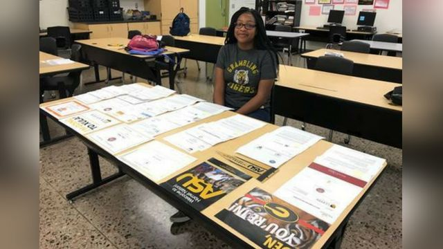 Phoenix high school grad accepted into 48 colleges, earns $1M in scholarships