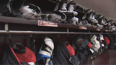 Coyotes Clean Out Lockers