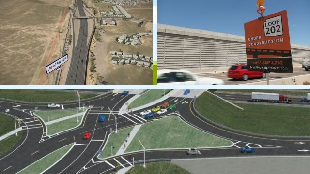 New diverging diamond interchanges planned