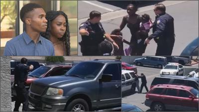 Dravon Ames and Iesha Harper accused Phoenix officers of misconduct