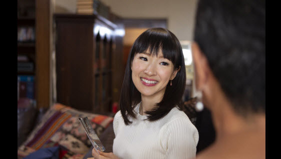 """On New Year's Day, Netflix released the series """"Tidying Up with Marie Kondo"""""""