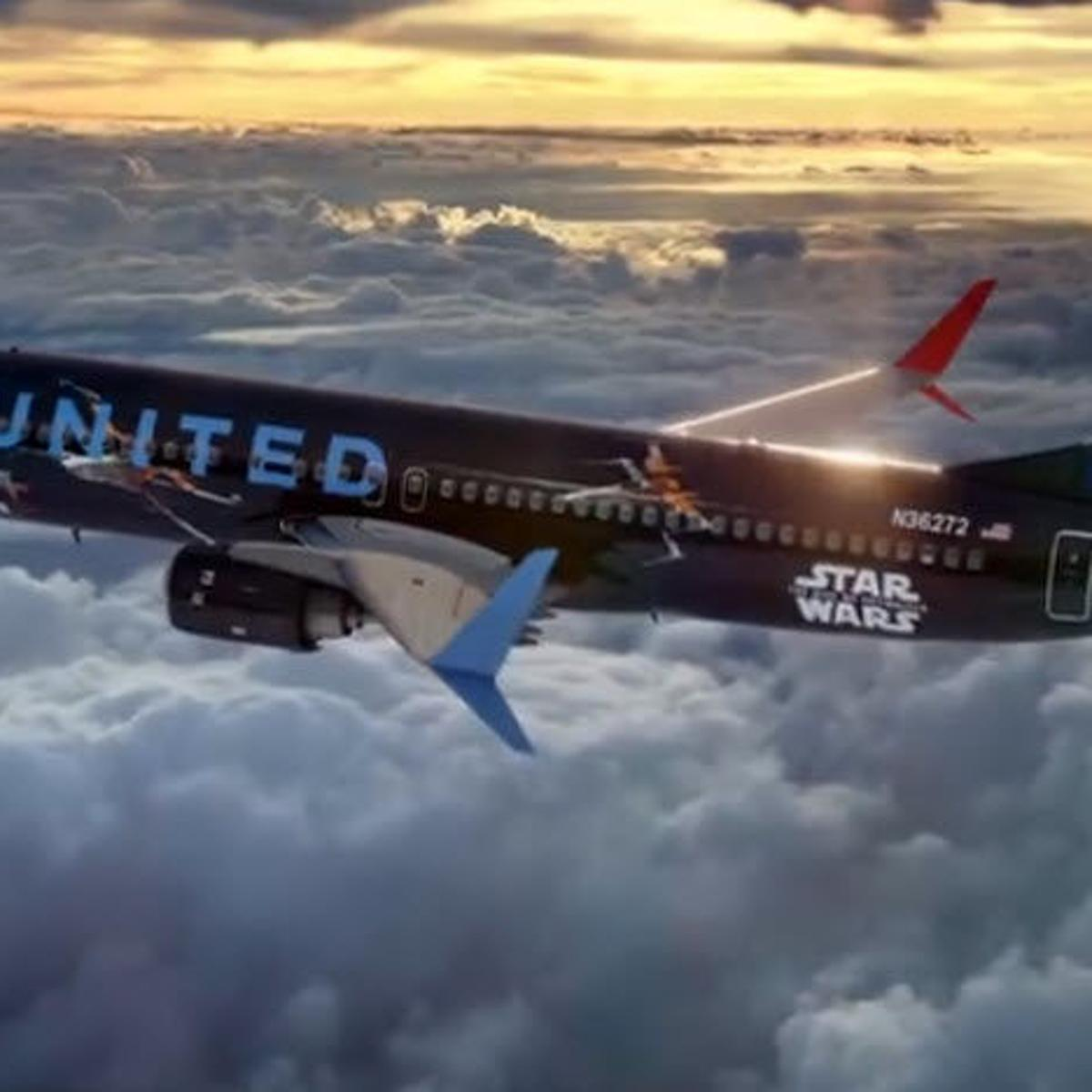 United Airlines Star Wars Plane Takes Flight In November Featured Articles Azfamily Com