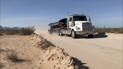 "Arizona's ""Last Wild Space"" now has smooth roads, big rigs and Honda Accords"