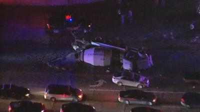 Cement truck rollover causes traffic backup near Luke Air Force Base
